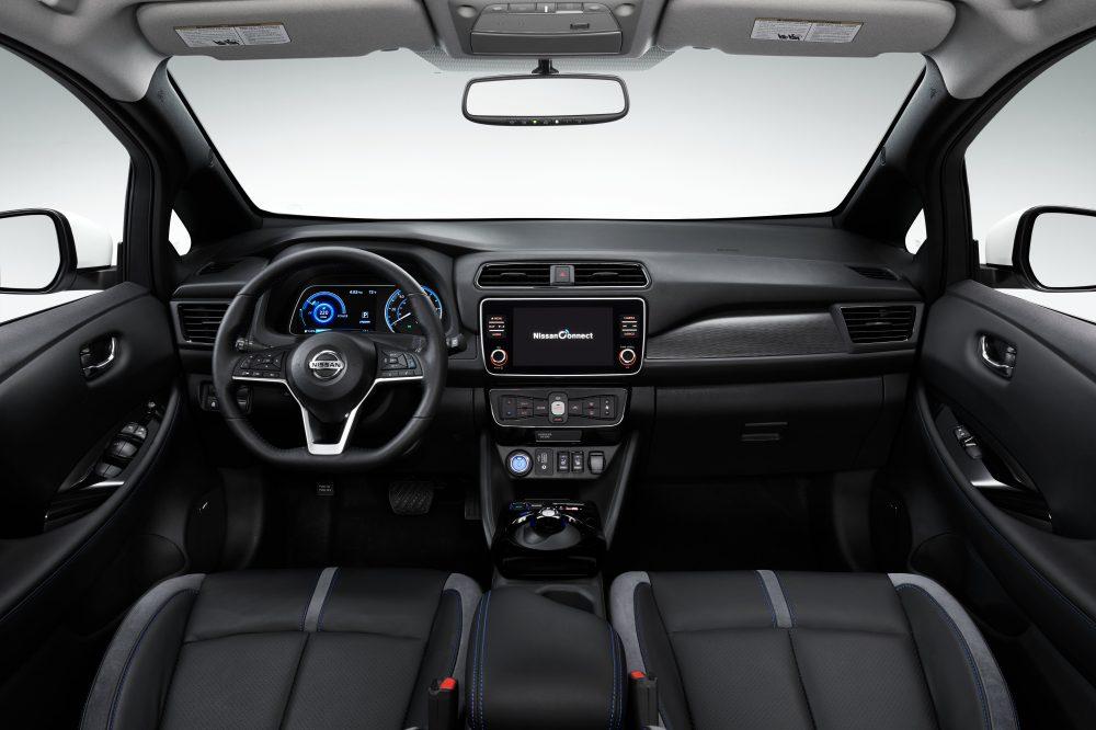 Nissan Leaf Plus interior