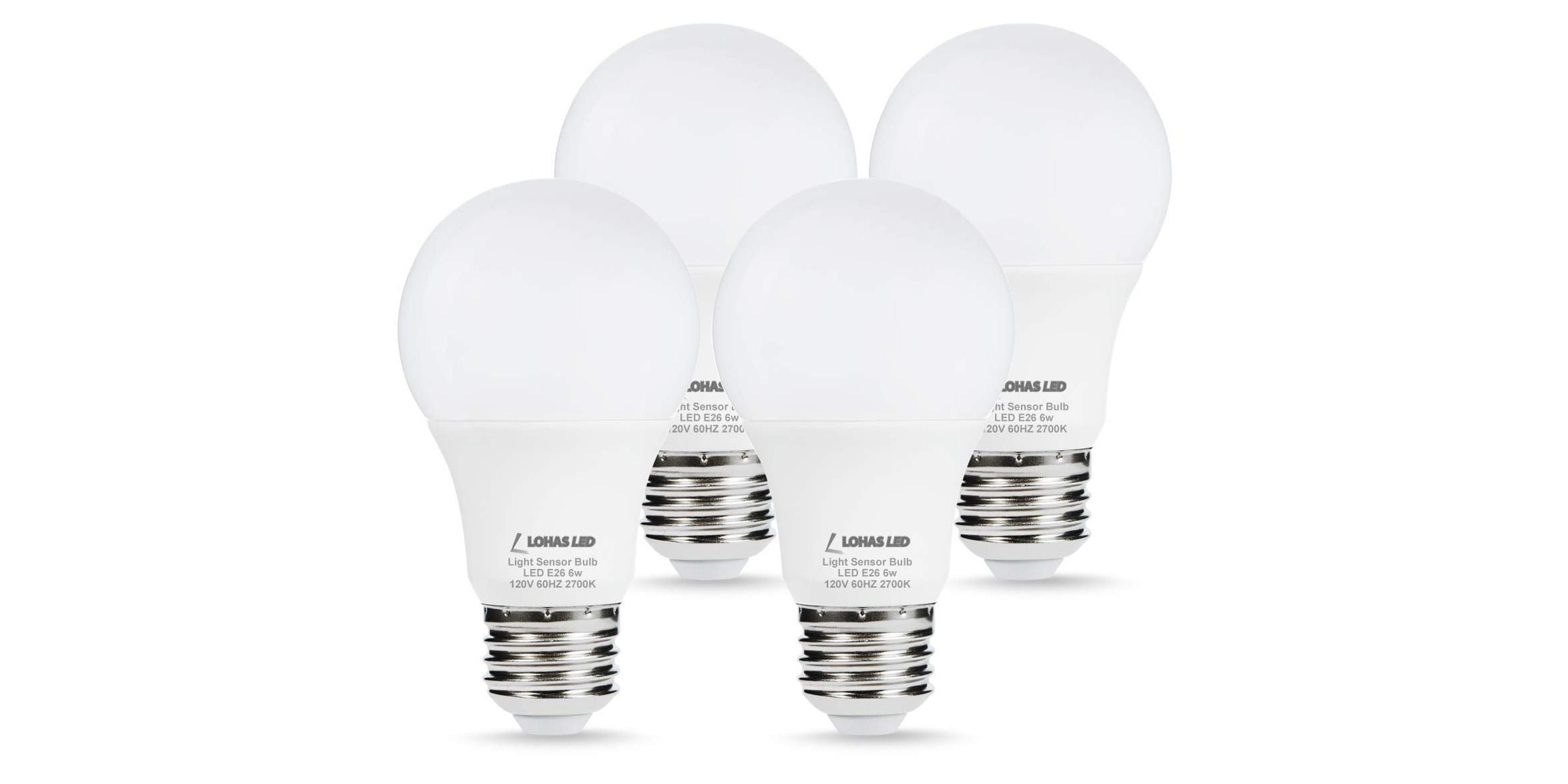 Green Deals: 4-pack 40W Smart Sensor LED Light Bulbs $13, more