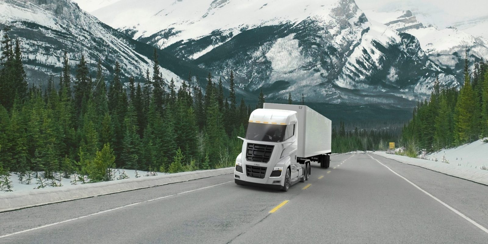 Nikola Motors Announces All Electric Version Of The Semi Truck As Tesla Changes