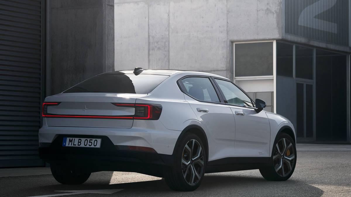 Volvo Unveils Polestar 2 Electric Car As Tesla Model 3 Compeor