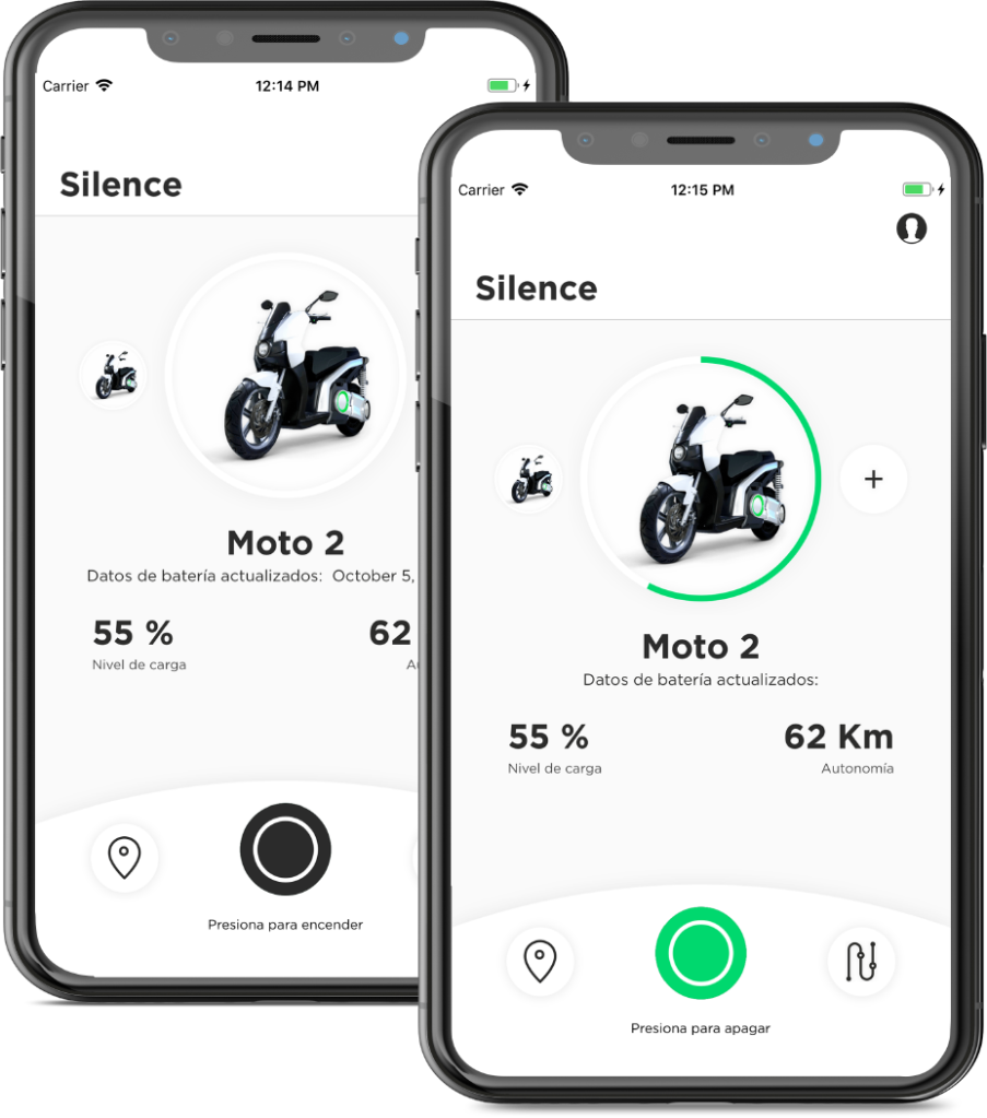 silence s01 electric scooter app