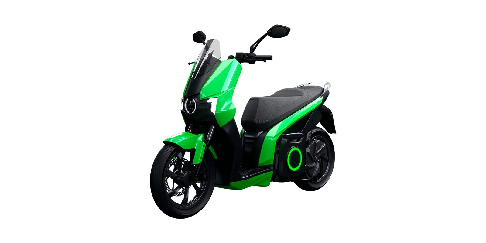Silence S01 62 mph electric scooter with 5 kWh removable