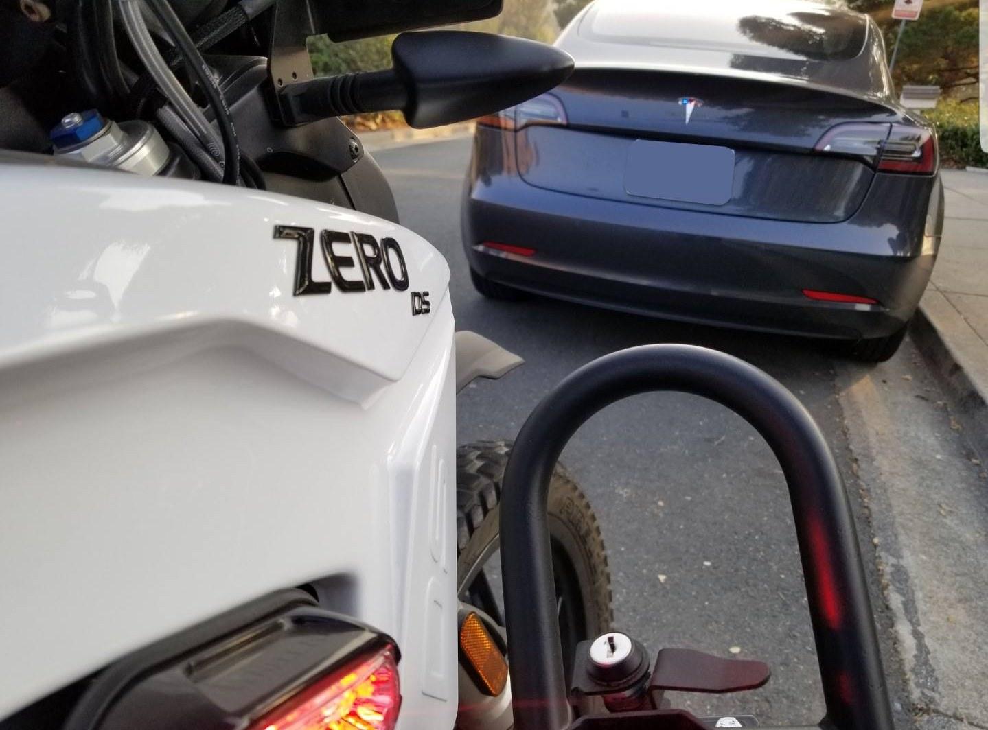 zero police bike tesla