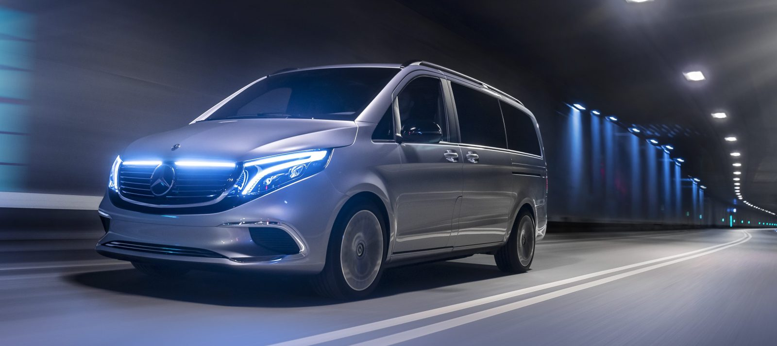Mercedes Benz Unveils Eqv All Electric Minivan With Almost 250 Miles Of Range