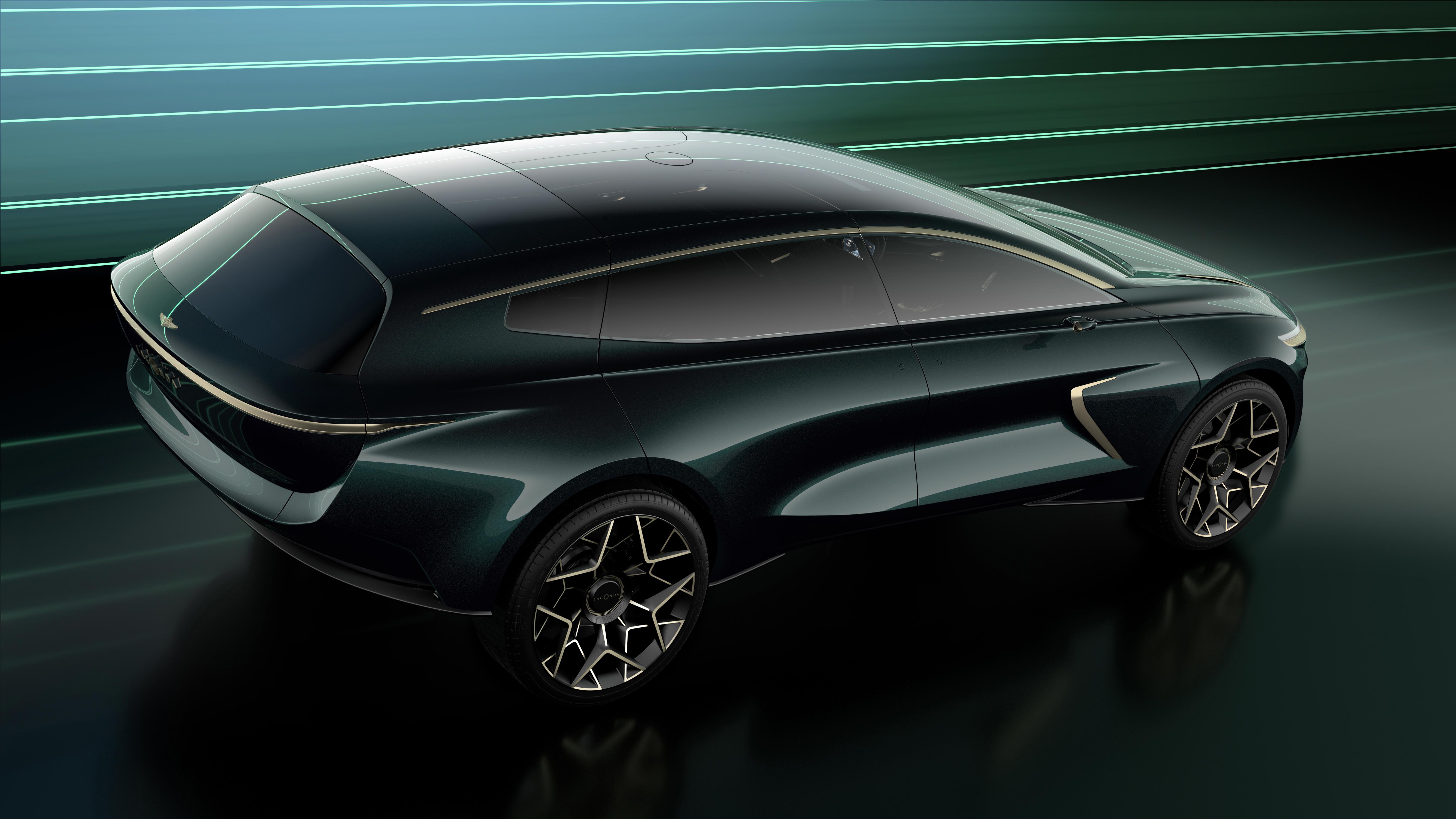 Aston Martin Reveals Lagonda All Terrain Electric Suv Concept Electrek