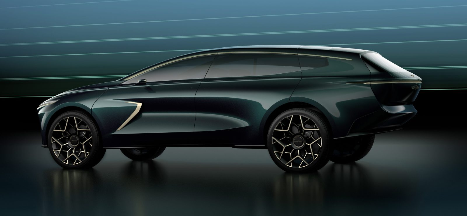 aston martin reveals lagonda all-terrain electric suv concept - electrek