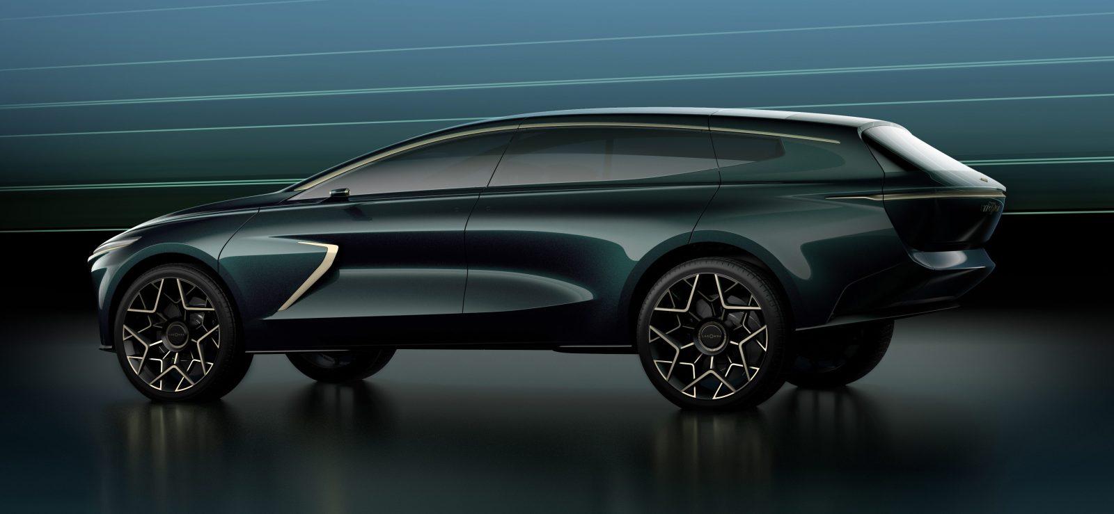 Aston Martin Reveals Lagonda All Terrain Electric Suv Concept