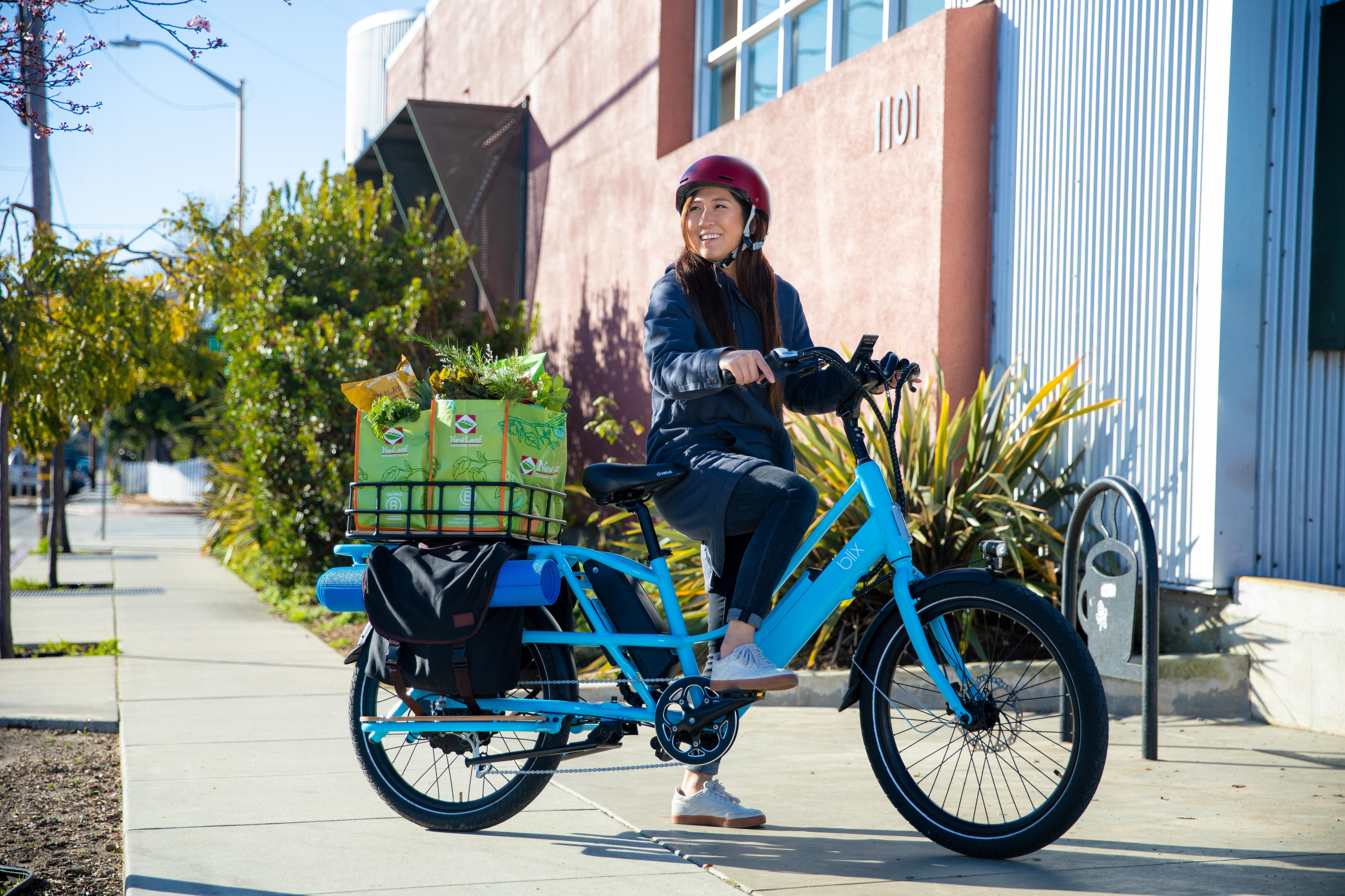 blix packa electric cargo bike
