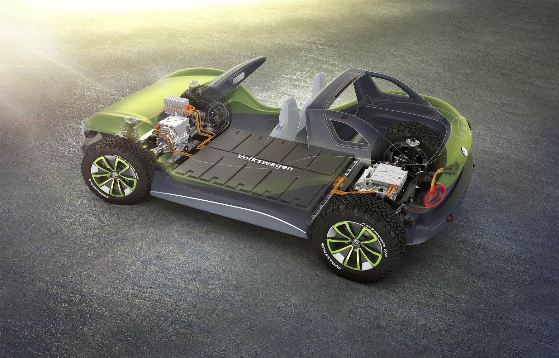 Vw Launches Its All Electric Buggy Electrek