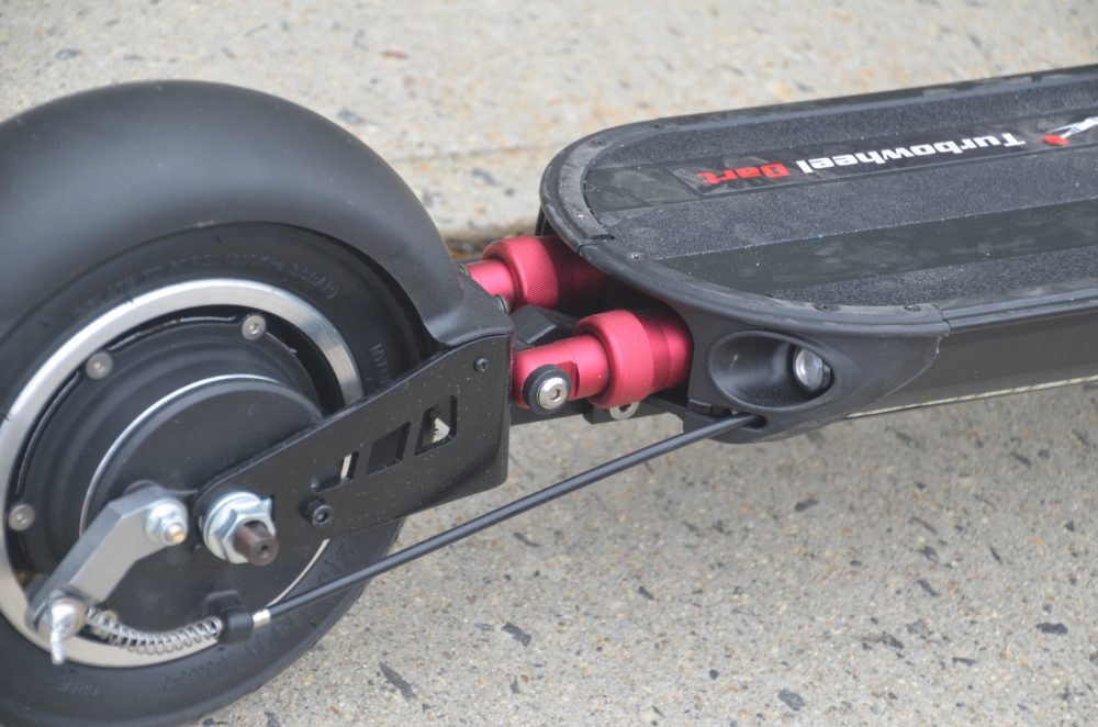 turbowheel dart electric scooter