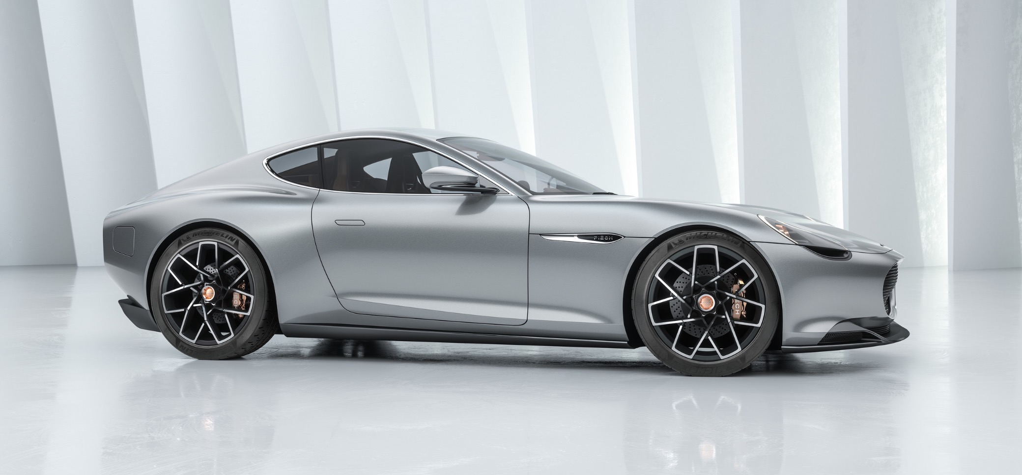 All-electric GT unveiled with over 300 miles of range and 5-min charging enabled by mysterious battery