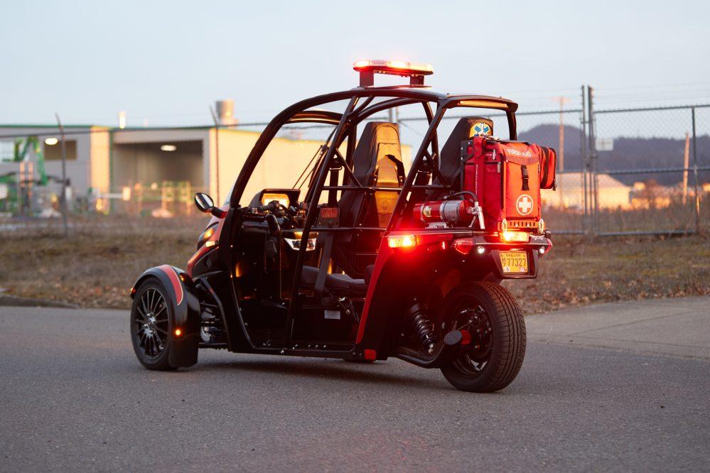 Des tricycles électriques pour remplacer les motos de livraison et les ambulances ! Par Robin Ecoeur  Rapid-Responder-8