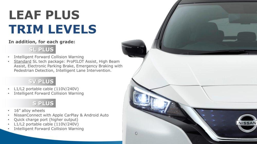 The Nissan Leaf Plus Starts At 36550 Electrek