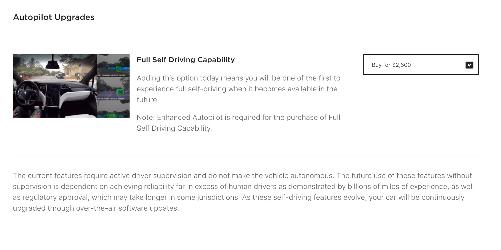 Tesla is bringing Autopilot prices 'back to normal', Elon Musk
