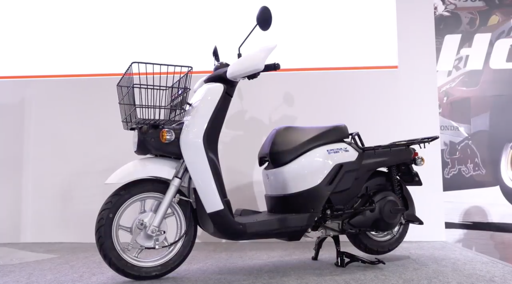 Honda electric scooter benly