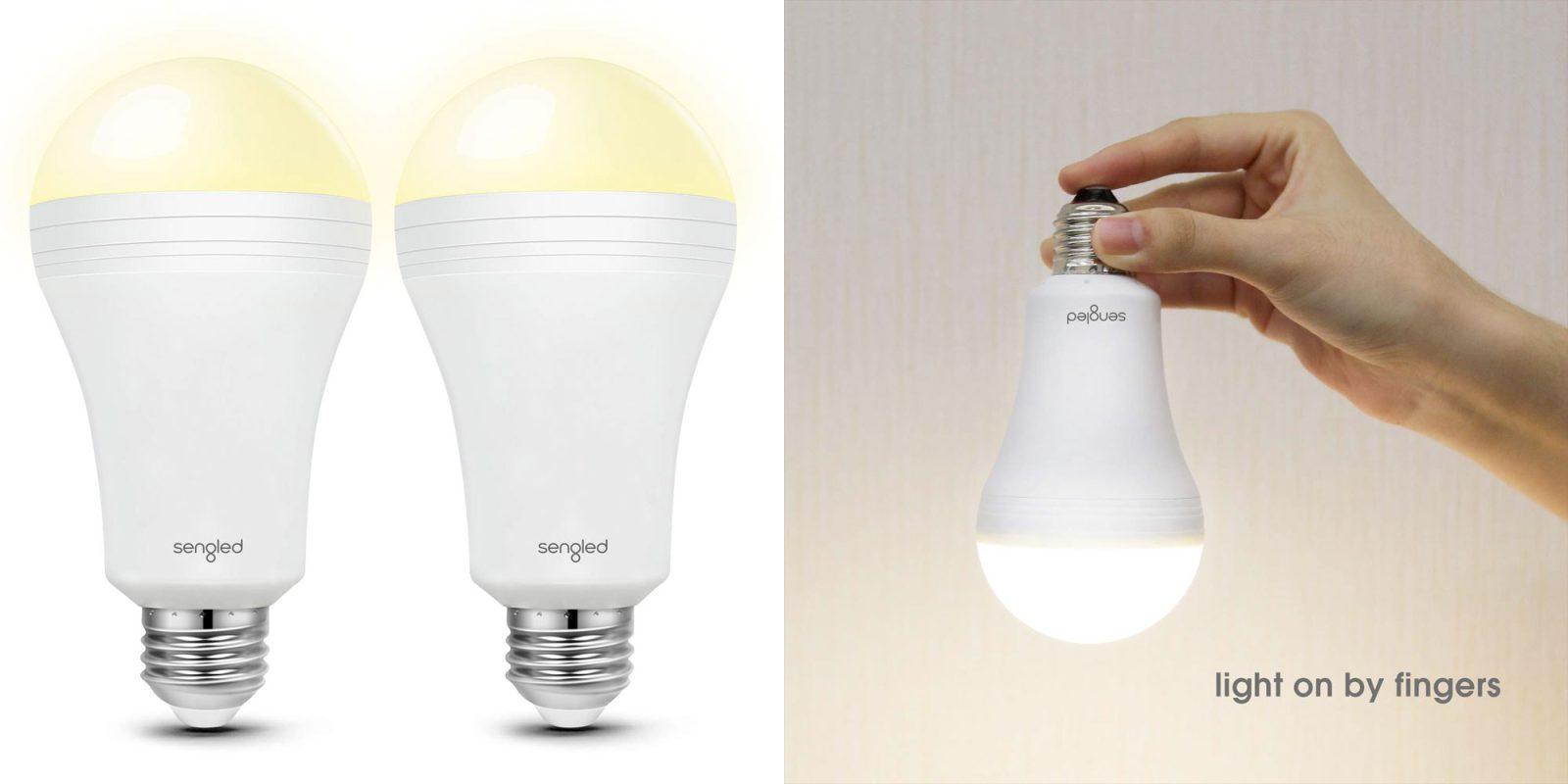 Green Deals 2 Pack Led Emergency Light Bulbs W Built In