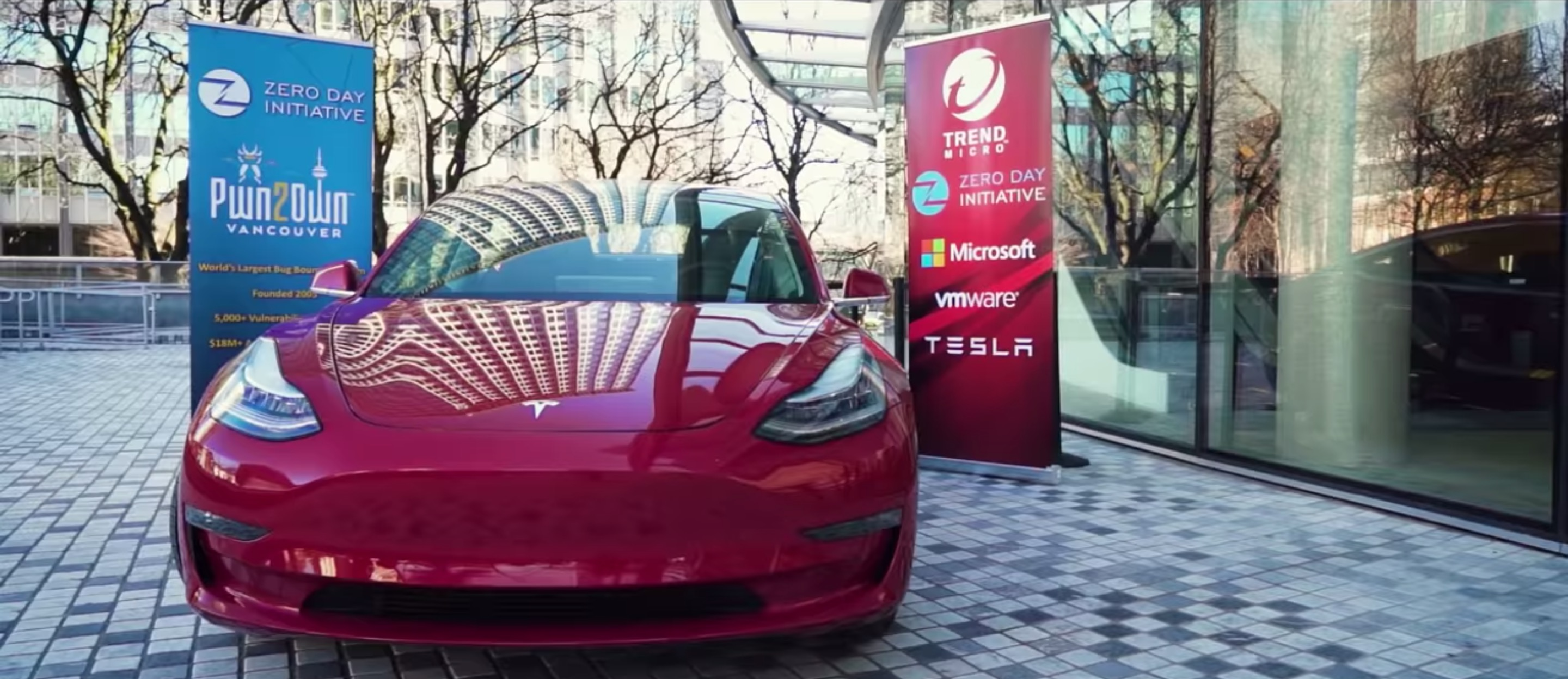 electrek.co - Fred Lambert - Hackers crack Tesla Model 3 in competition, Tesla gives them the car