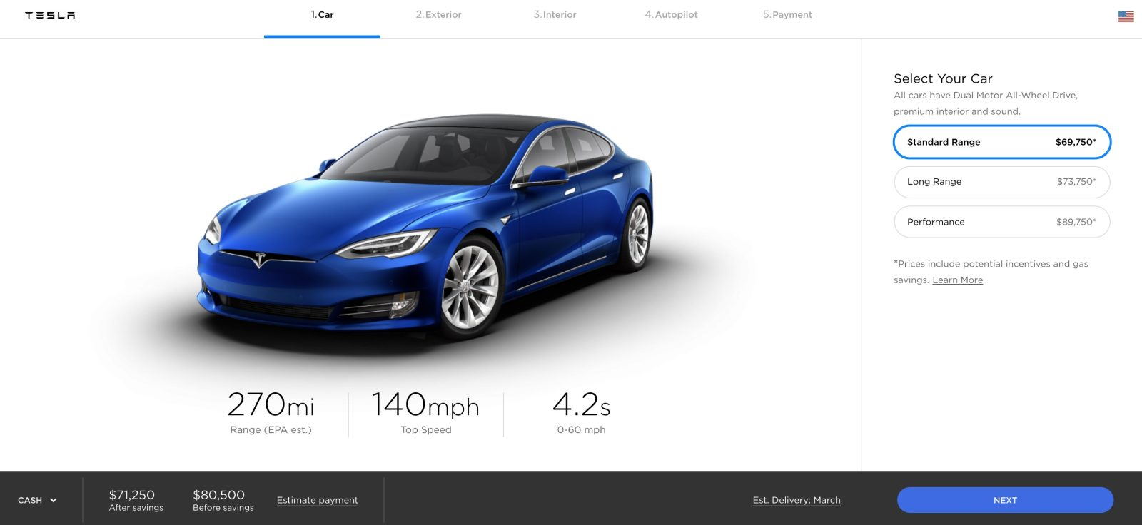 Tesla Releases New Model S Battery Pack Makes Mive Price Drop Kills Base X