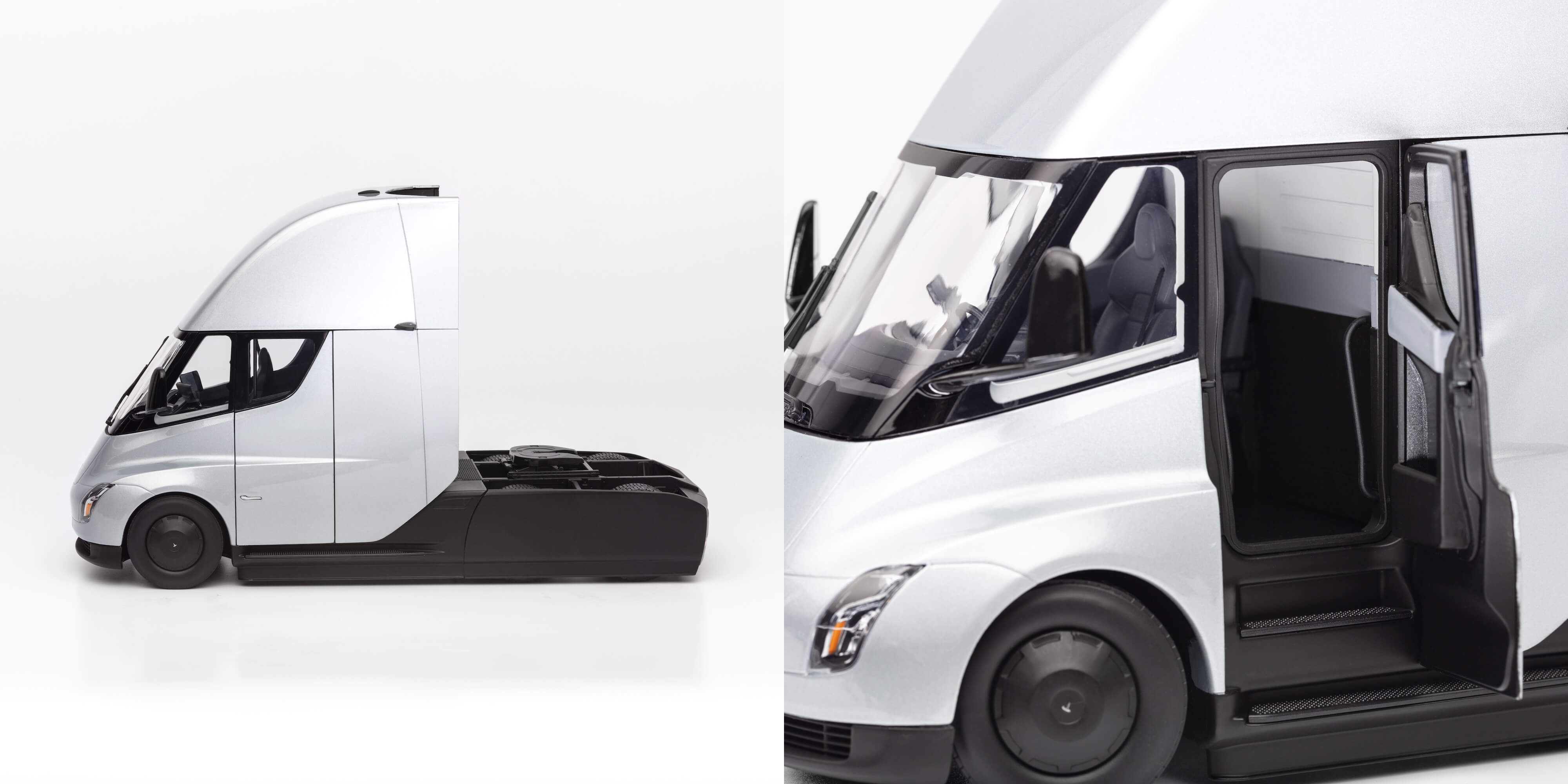 Tesla brings electric semi truck to production – in a diecast version