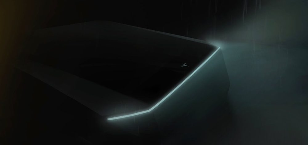 Tesla Pickup truck: could this be the mysterious 'Blade Runner' design?