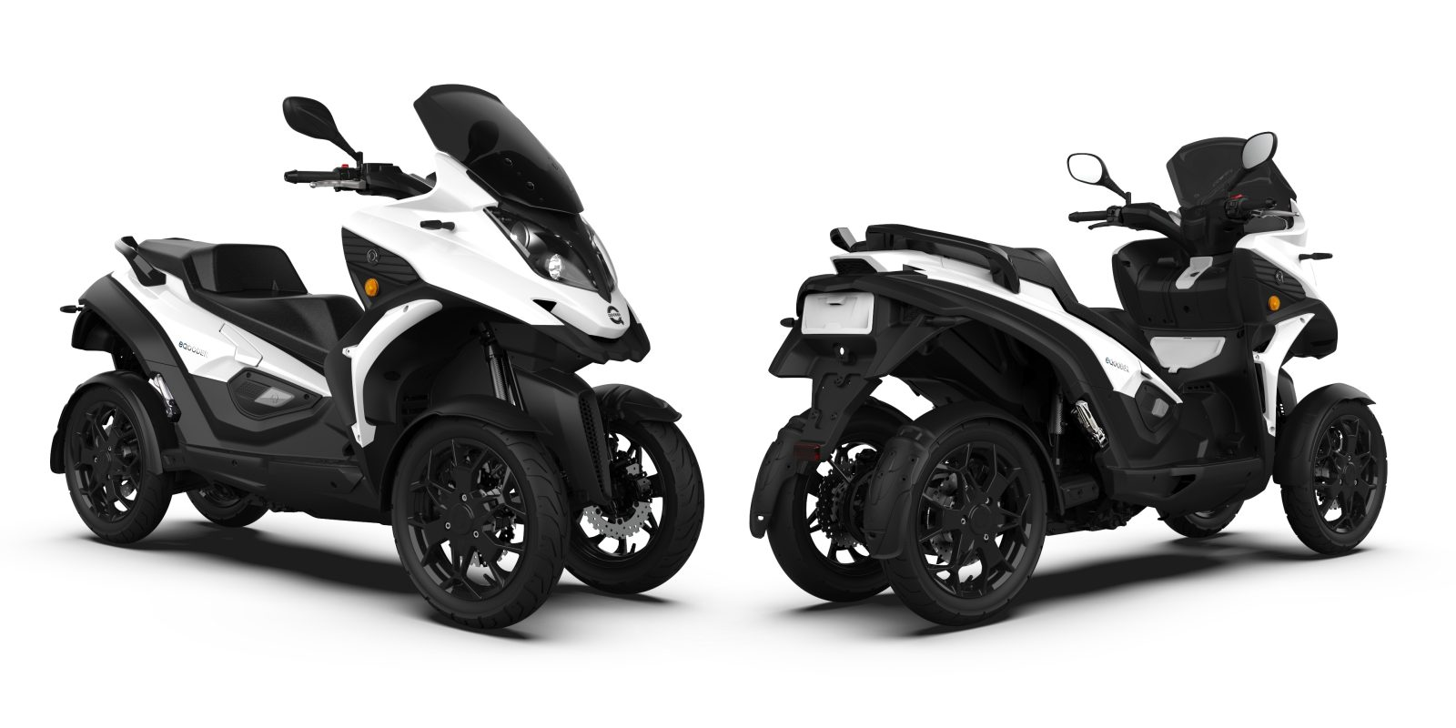 4 Wheel Eqooder With Zero Train Unveiled Is It An Electric Car Motorbike Or Scooter