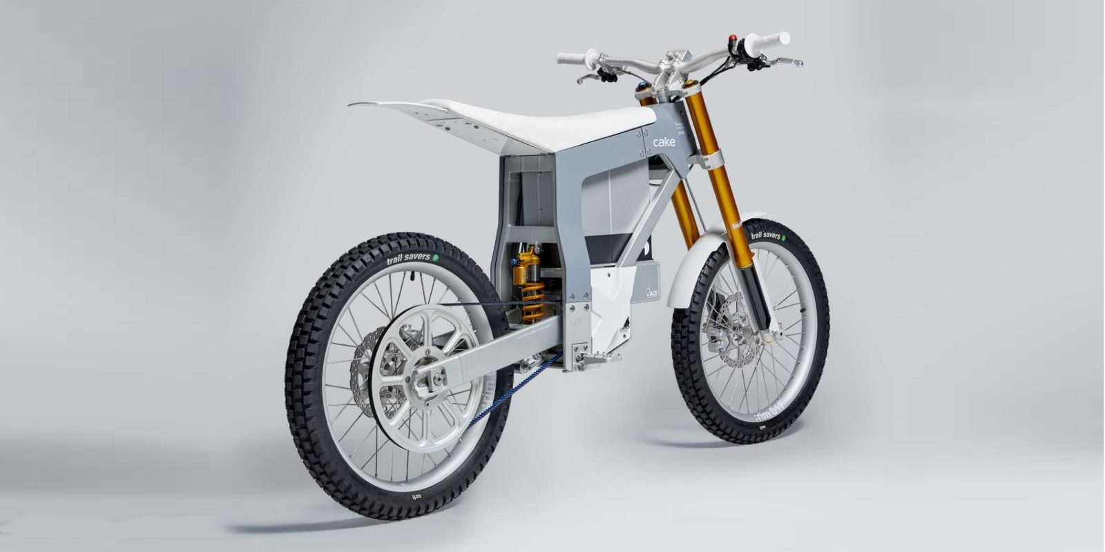 CAKE to offer Gates Belt Drive on Kalk electric dirt bike and
