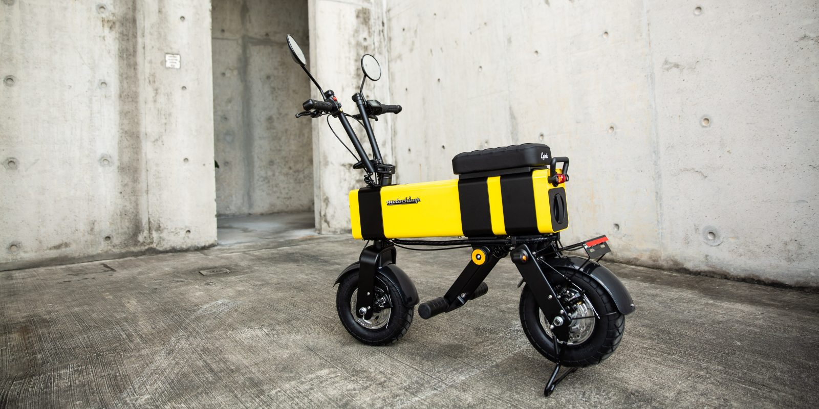 This Cute Little Motochimp V2 Electric Scooter Is A 28 Mph Urban Commuter