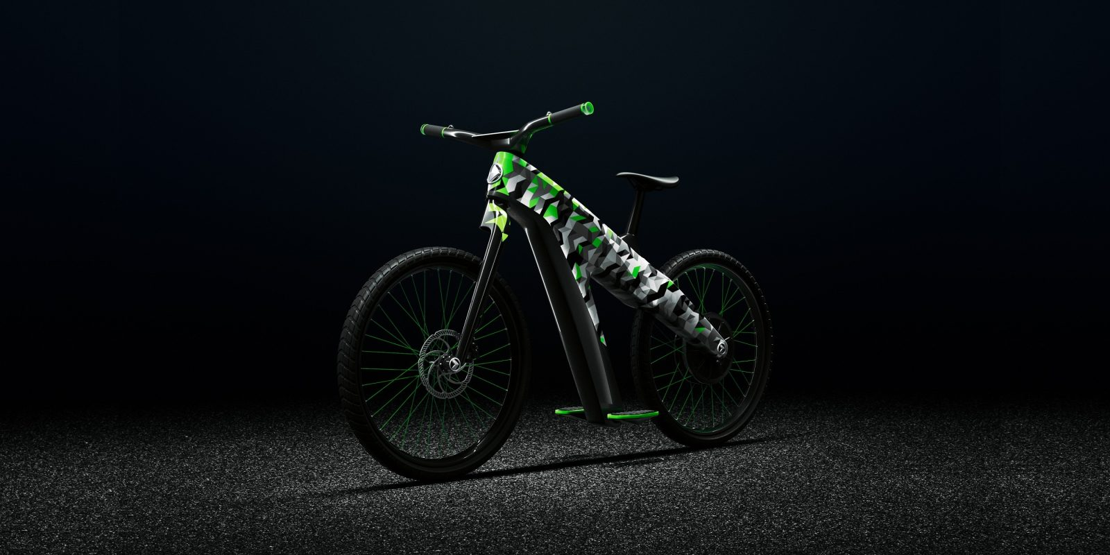 ŠKODA s funky electric two-wheeler takes DNA from electric cars ... a01e3755d