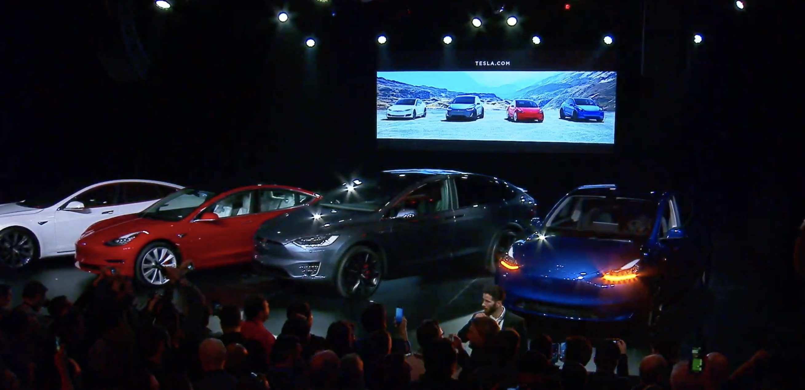 Tesla unveils Model Y electric SUV with 300 miles range and 7-seats