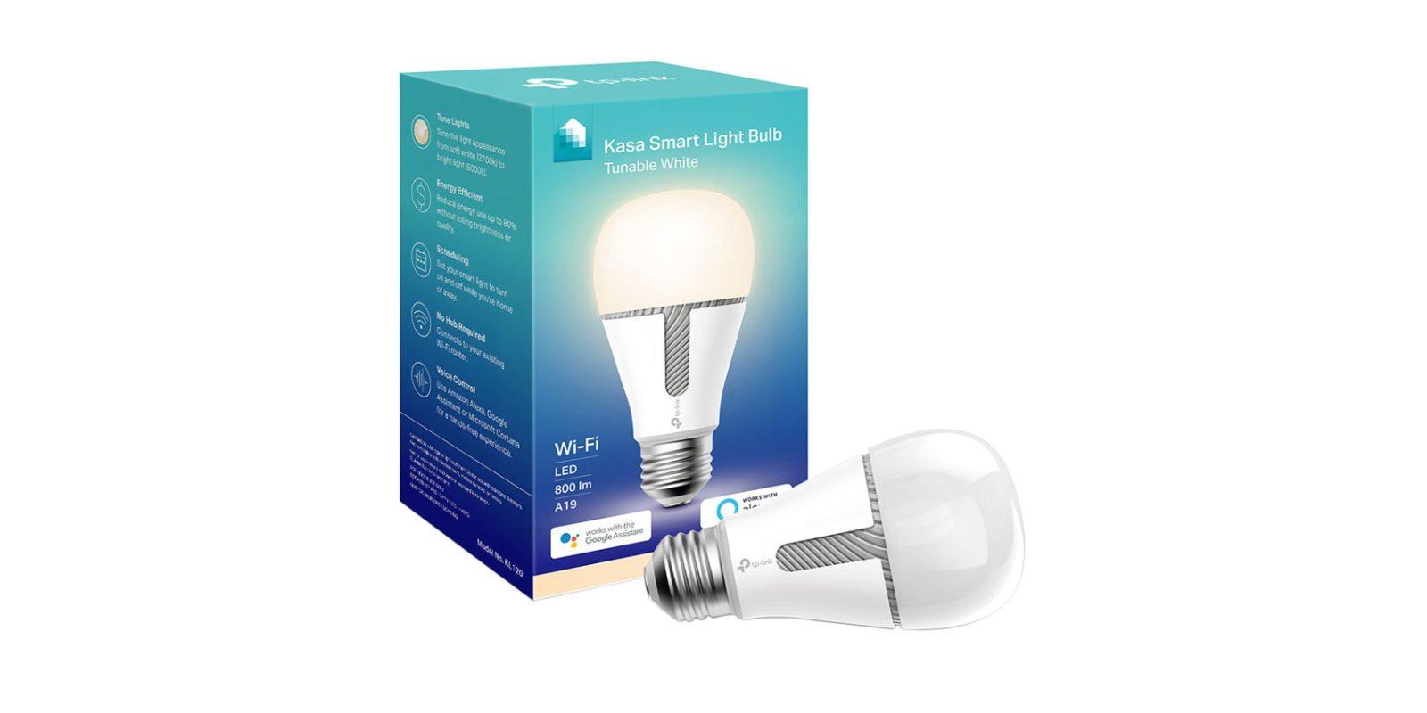 Green Deals: 2-pack TP-Link Kasa Smart LED Light Bulbs $35