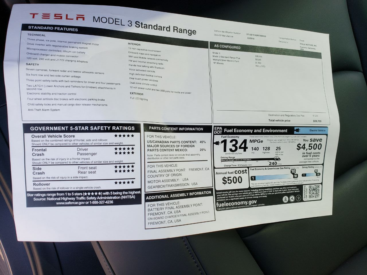 Tesla Will Soon Downgrade Software On The Entry Level Model