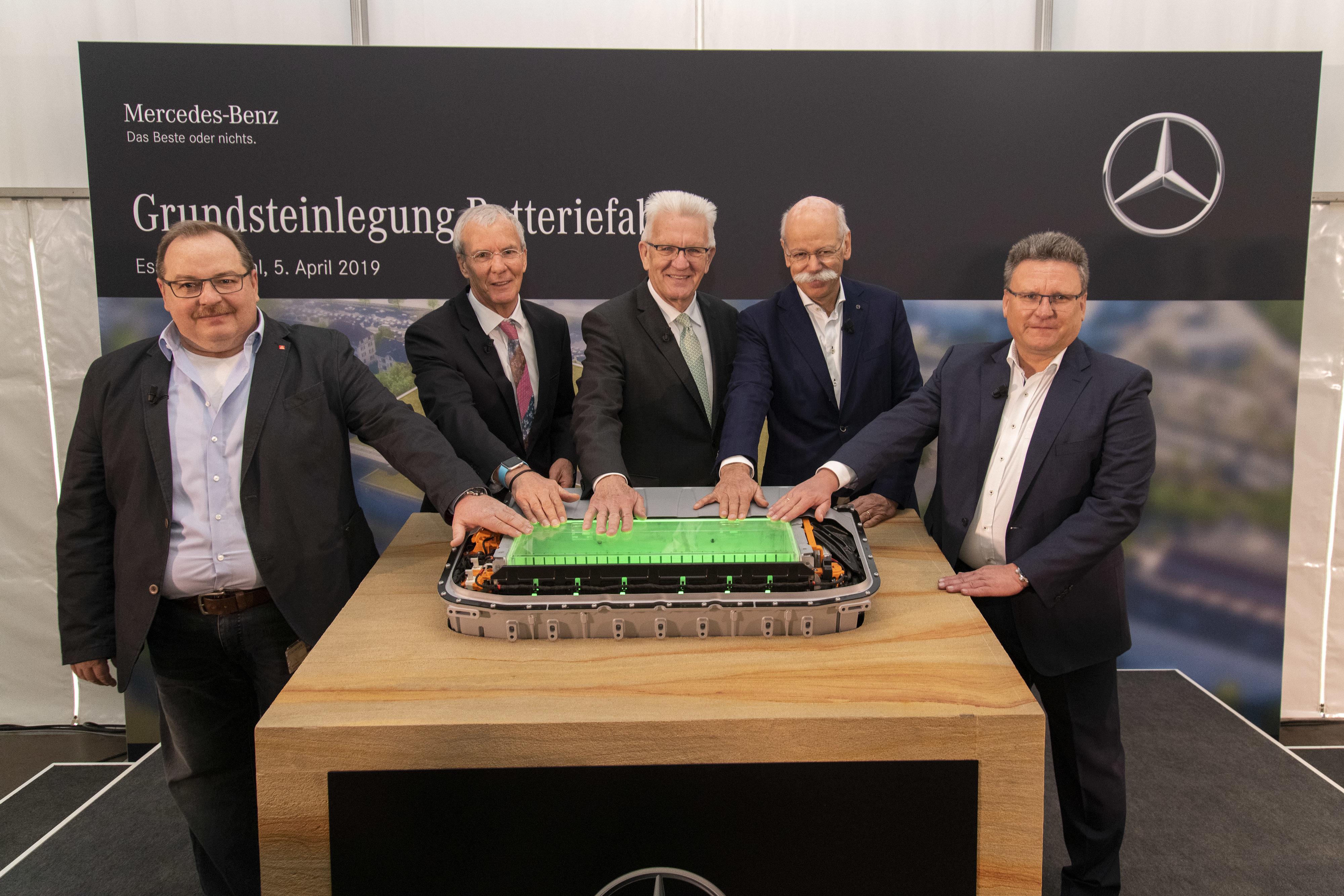 Fábrica de Baterías Mercedes Benz
