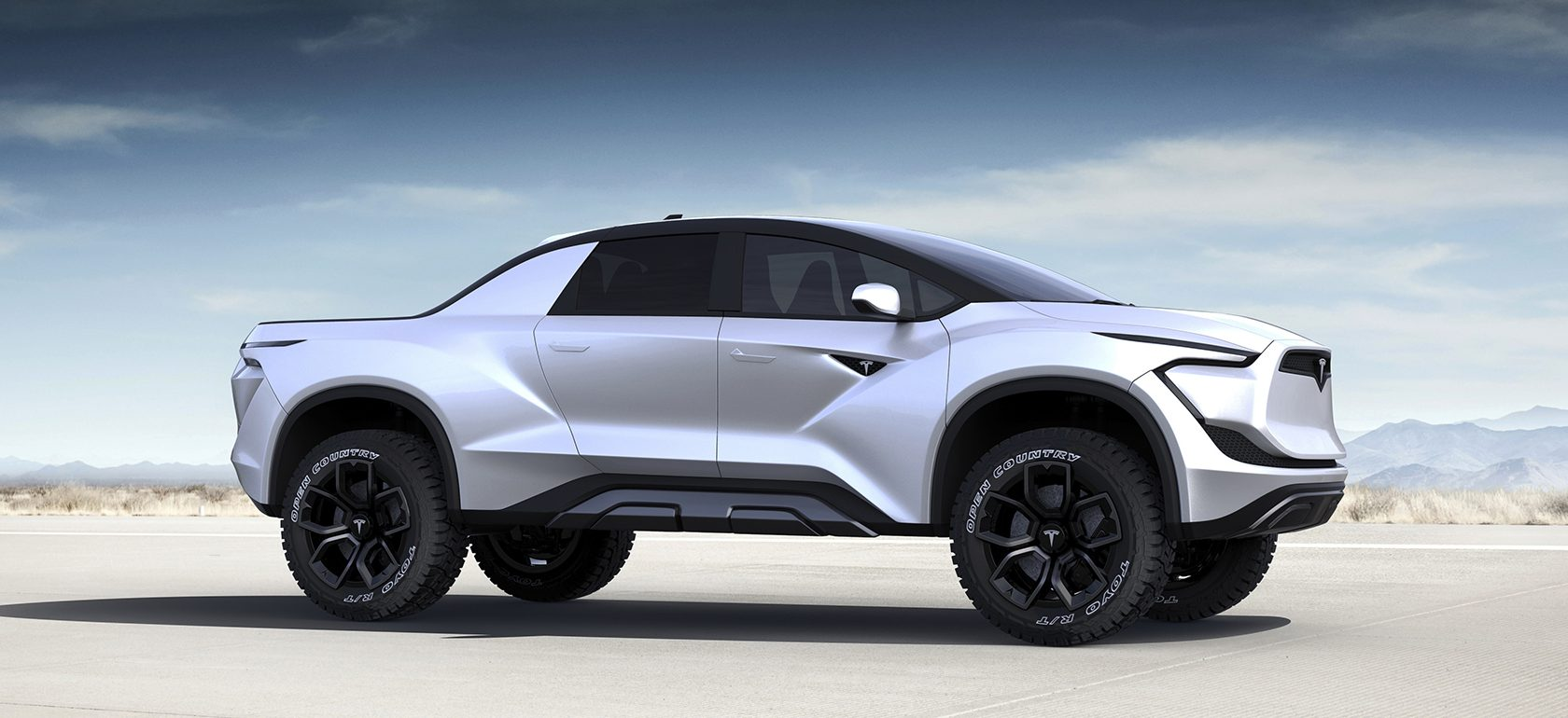 Tesla Pickup Truck imagined – love it or hate it?