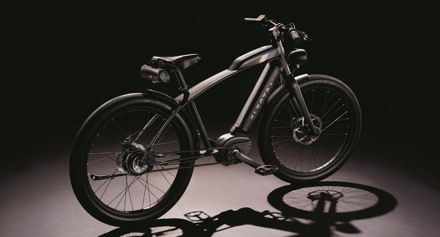 New belt-drive 28 mph electric bicycle from Electra offers cafe