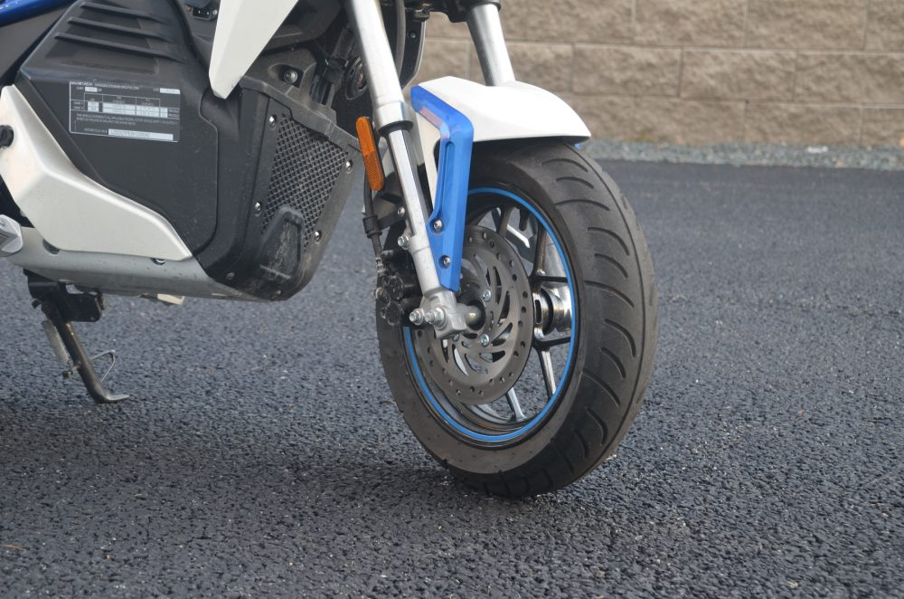CSC city slicker electric motorcycle