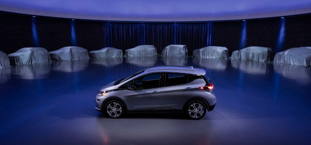 GM new electric cars