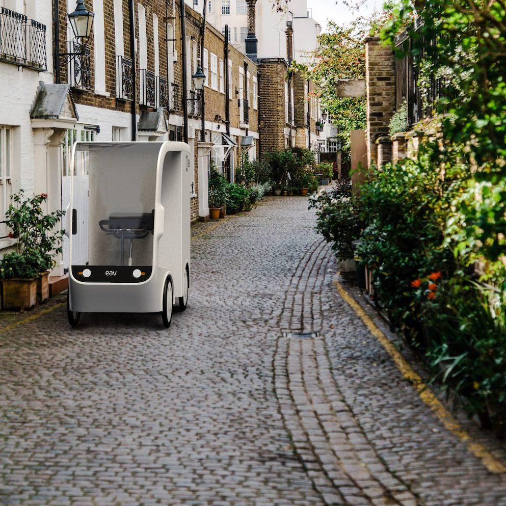 p1 electric cargo bike quadricycle