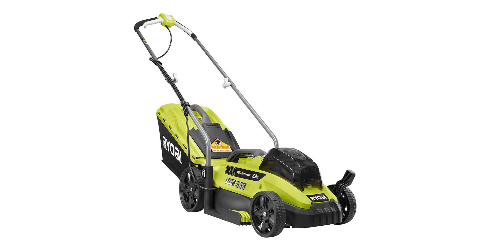 Ryobi's 13-inch electric lawn mower is on sale for $149 today, plus deals on raised garden beds and more