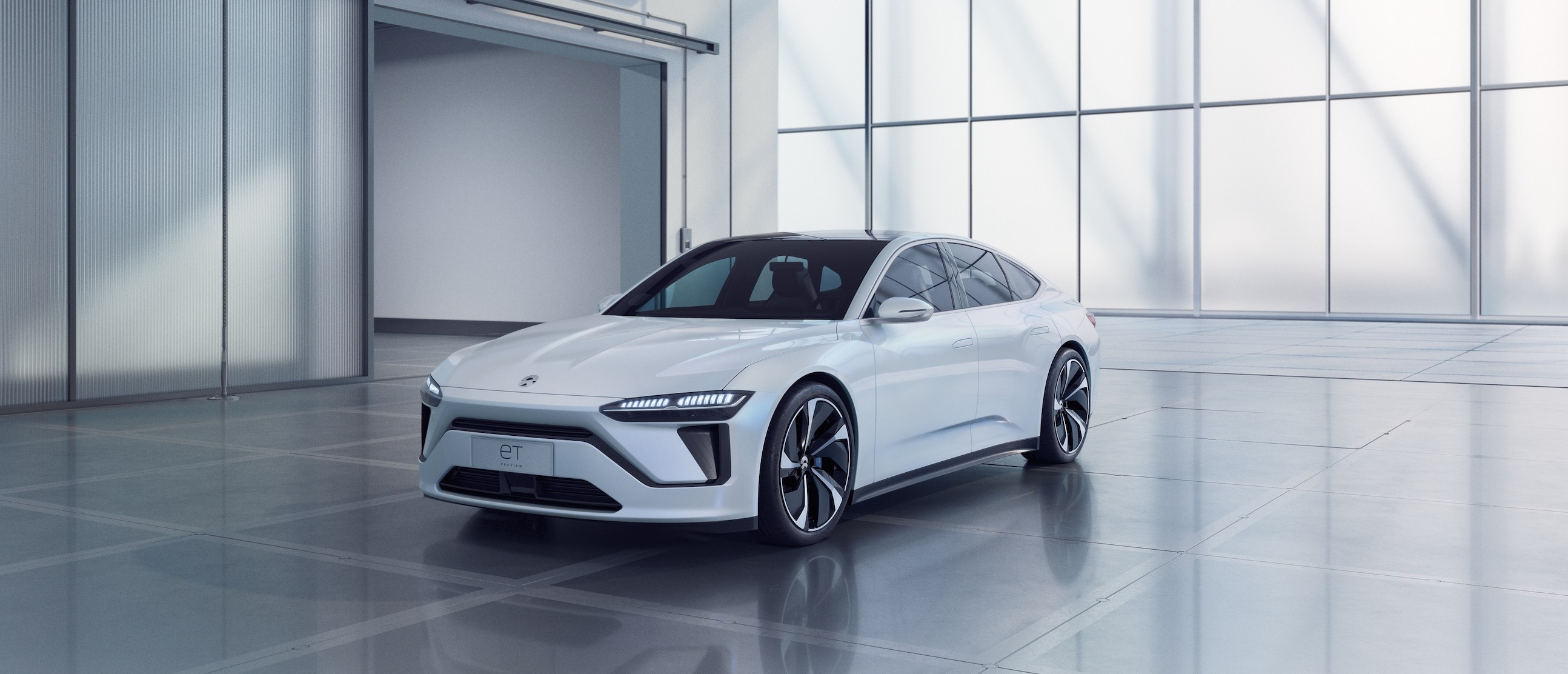Nio Unveils New All Electric Sedan And Fast Charging Station