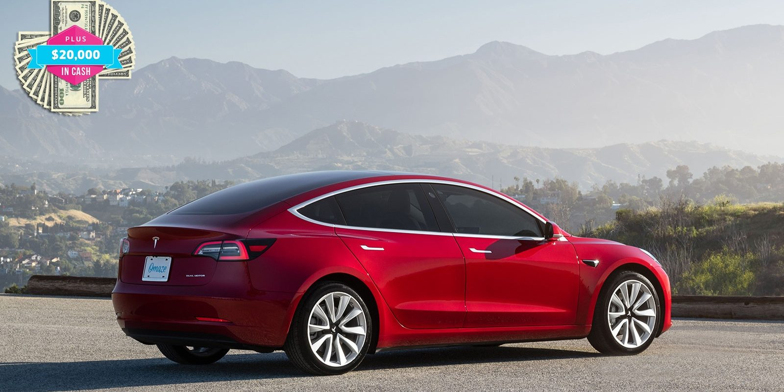 Win a Tesla Model 3 Performance with Wall Connector and