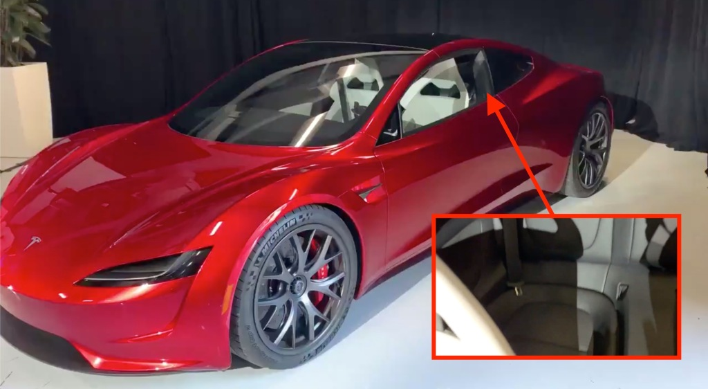 Uber Vehicle List >> Tesla gives first look at new Roadster back seats and door ...