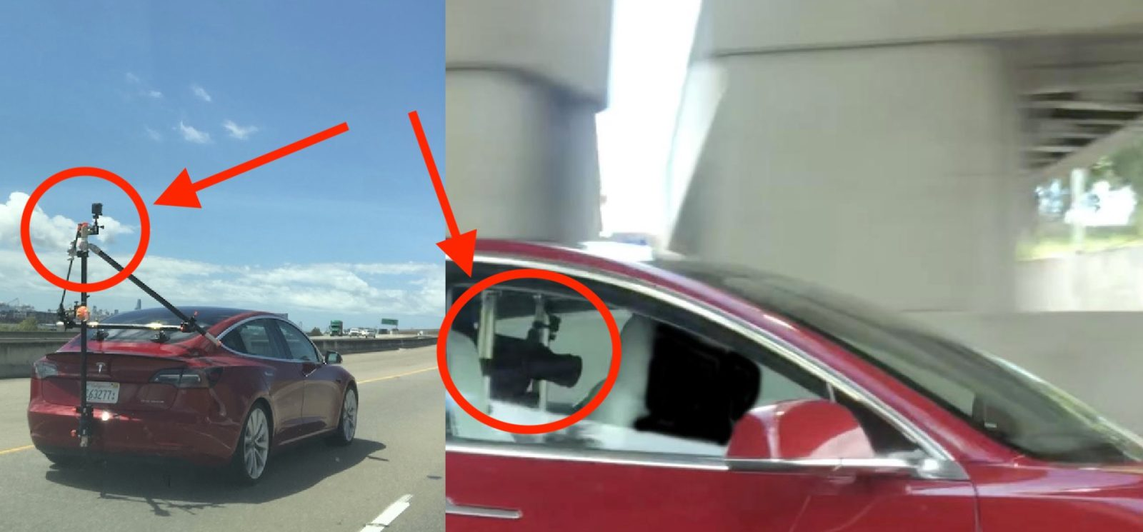 Tesla spotted filming self-driving demo ahead of autonomy