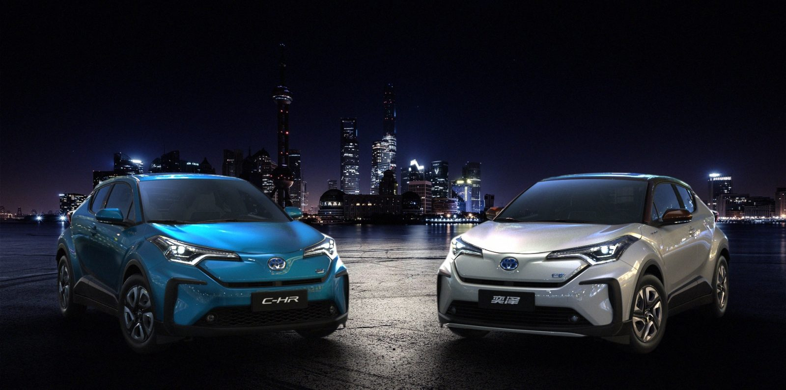 Toyota Debuts All Electric C Hr Izoa Models Prior To 2020 China Launch