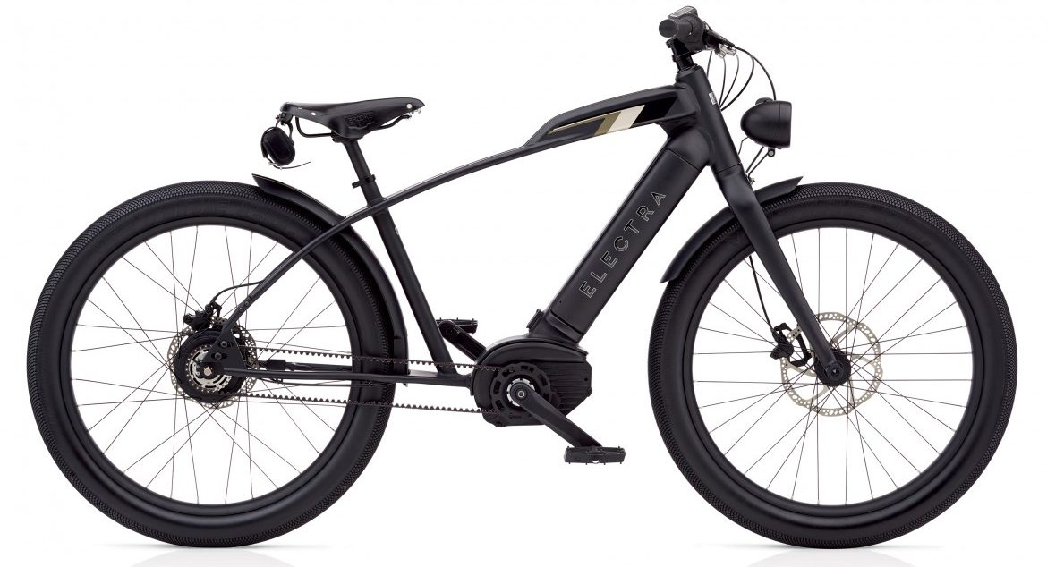 New belt-drive 28 mph electric bicycle from Electra offers cafe racer styling