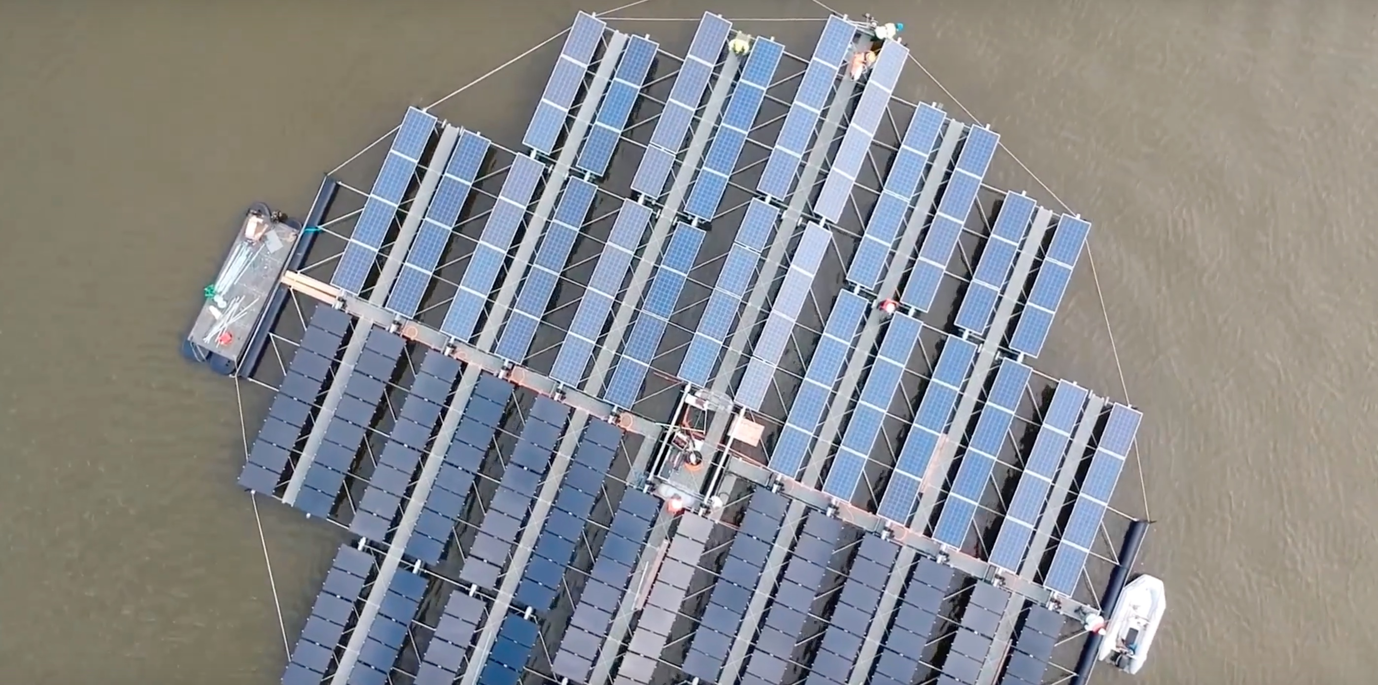 EGEB: World's largest floating solar archipelago, coal takes hits in China and Britain, and more