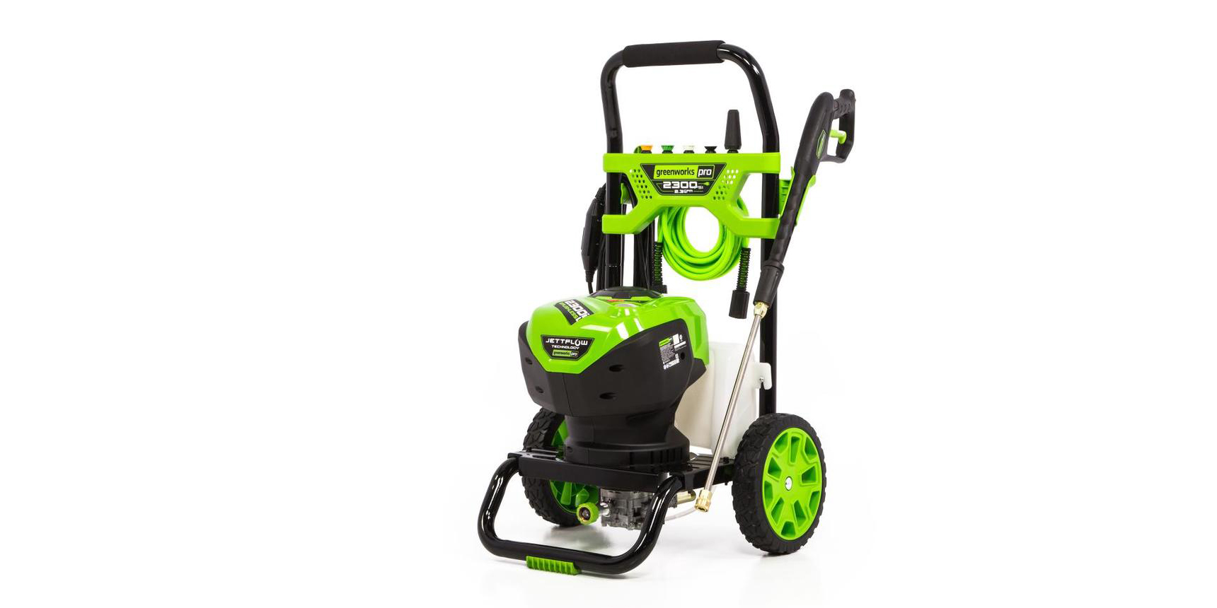 Pick up a Greenworks Pro Electric Pressure Washer for 33% off, Sylvania LED bulbs and more in today's Green Deals
