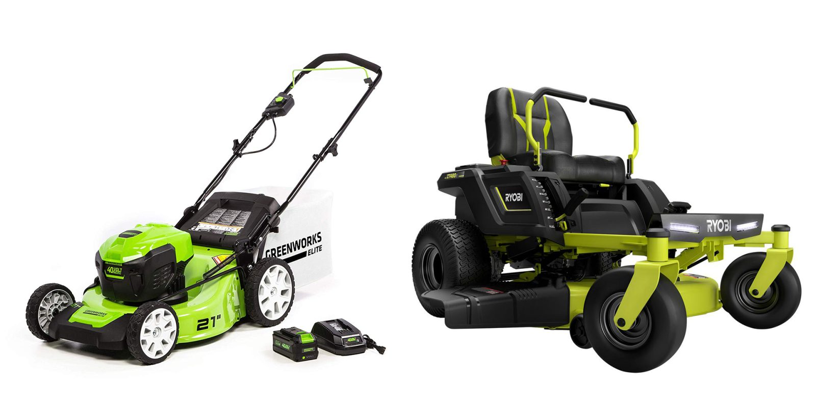 Greenworks And Ryobi Electric Lawn Mower Deals Electrek