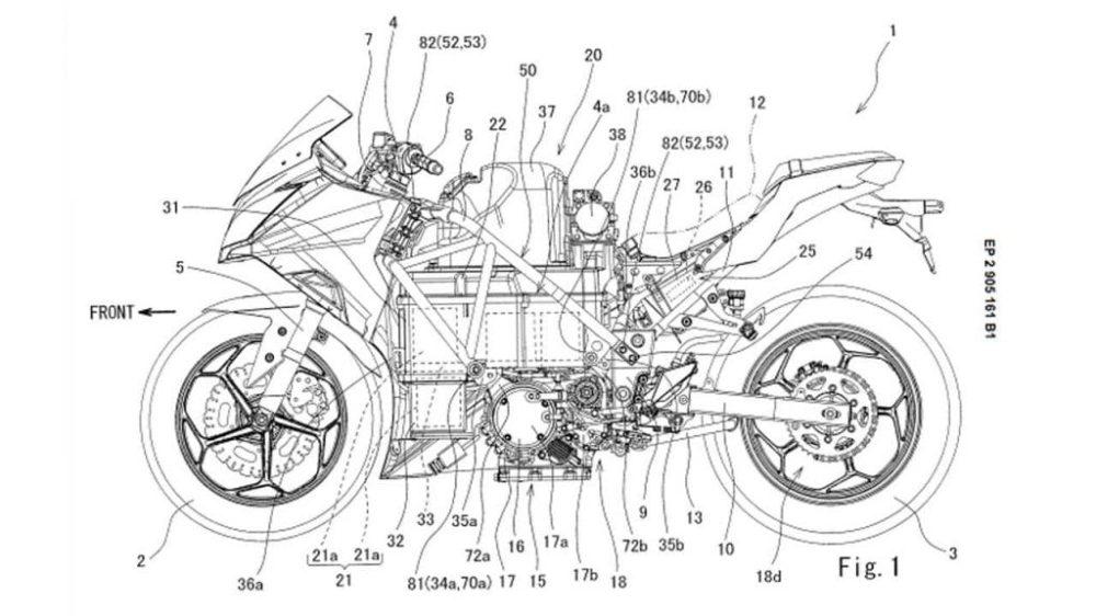 Kawasaki may be working on an electric Ninja motorcycle