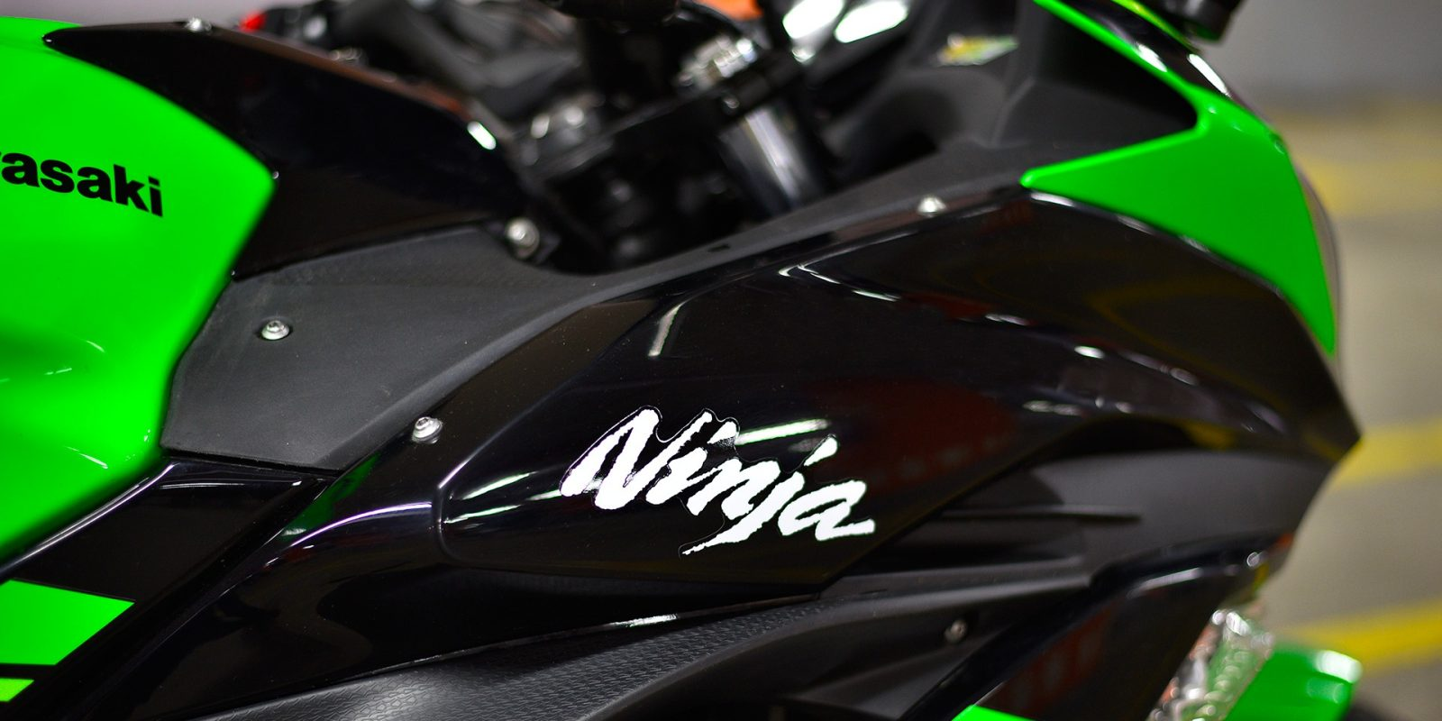 Kawasaki may be working on an electric Ninja motorcycle with swappable batteries