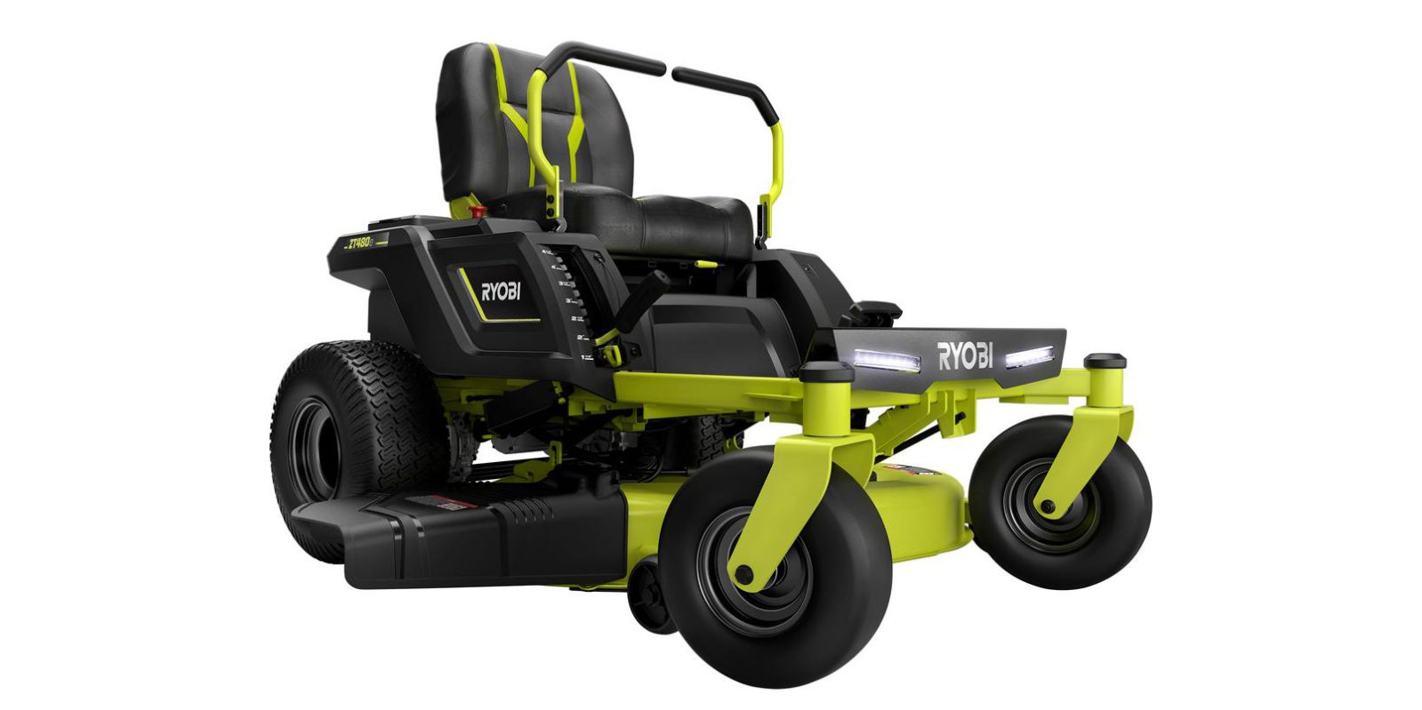 c1a644be5b3 Home Depot offers the Ryobi 42-inch 75Ah Electric Zero Turn Riding Lawn  Mower for  3